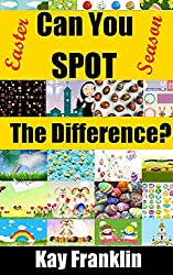 Spot The Difference Easter Season: 25 Easter Illustrations With 10 Differences To Find For Each One