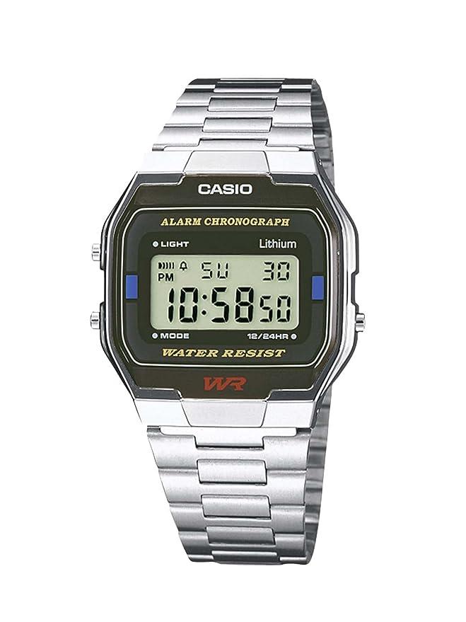 238 opinioni per Casio Collection – Orologio Unisex Digitale con Bracciale in Acciaio Inox –