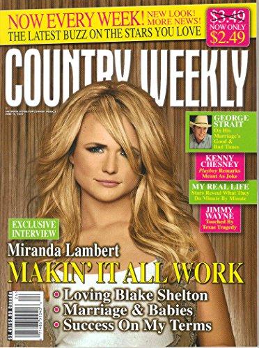 Country Weekly Magazine - Country Weekly Magazine, Vol. 16, No. 18 (June 15, 2009)