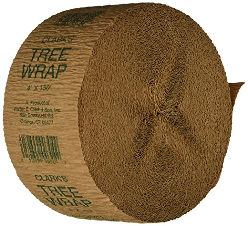 Clarks Tree Wrap (Walter E Clark 4-Inch by 150-Foot Tree Wrap 00304)