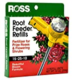 Ross Rose & Flowering Shrubs Fertilizer Refills for Ross Root Feeder, 15-25-10