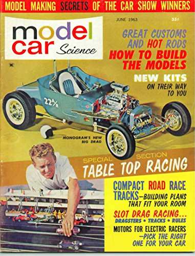 Model Car Science Magazine June 1963