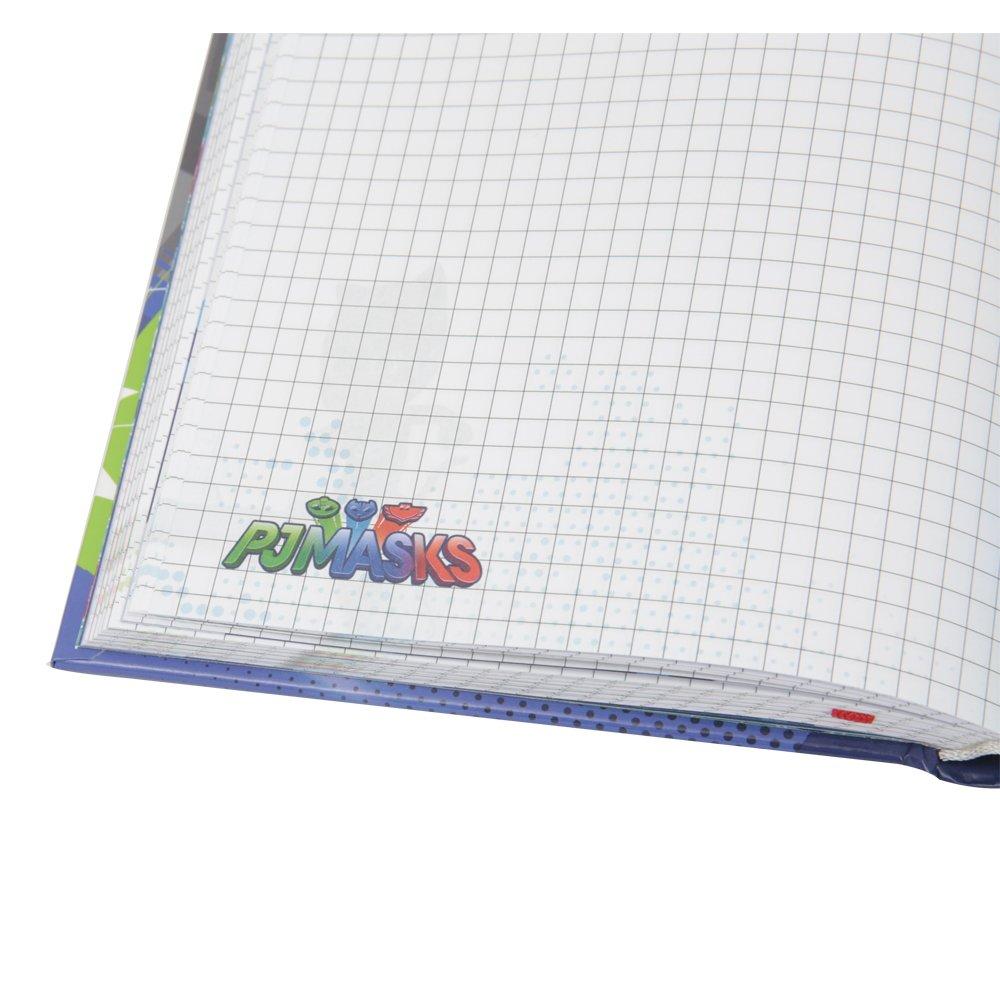 320 Pagine PJ Mask Diario Scuola 10 Mesi Collezione 2018//19 Nero Formato Standard