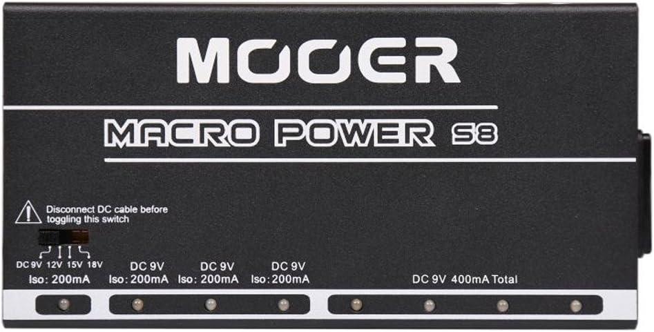 Mooer MACRO POWER S8 - Fuente de alimentación
