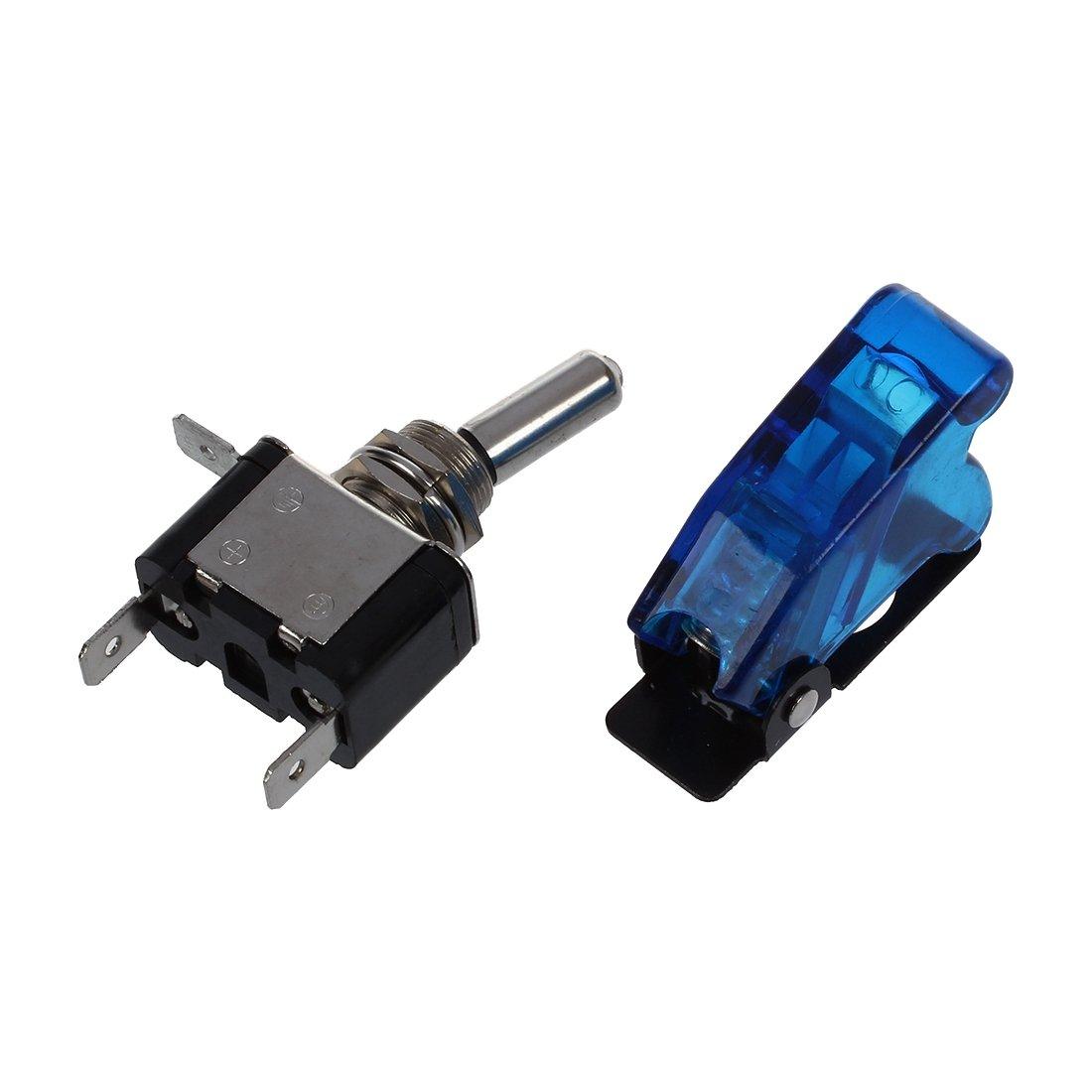 SODIAL (R)12V 20A Interrupteur Inverseur a Bascule Levier On/Off LED ON-OFF SPST +COUVERTURE Auto Voiture product image
