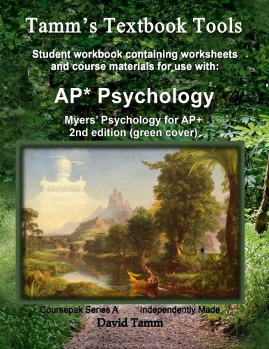 Myers'-Psychology-for-AP*-2nd-Edition+-Student-Workbook-Relevant-daily-assignments-tailor-made-for-the-Myers-text-(Tamm's-Textbook-Tools)