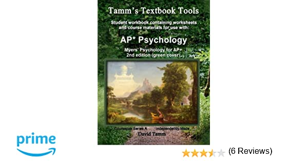 Amazon myers psychology for ap 2nd edition student amazon myers psychology for ap 2nd edition student workbook relevant daily assignments tailor made for the myers text tamms textbook tools fandeluxe Gallery