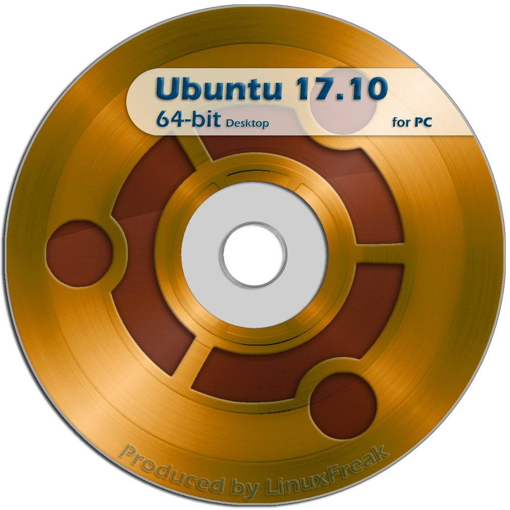Ubuntu Linux 17.10 DVD - OFFICIAL 64-bit release