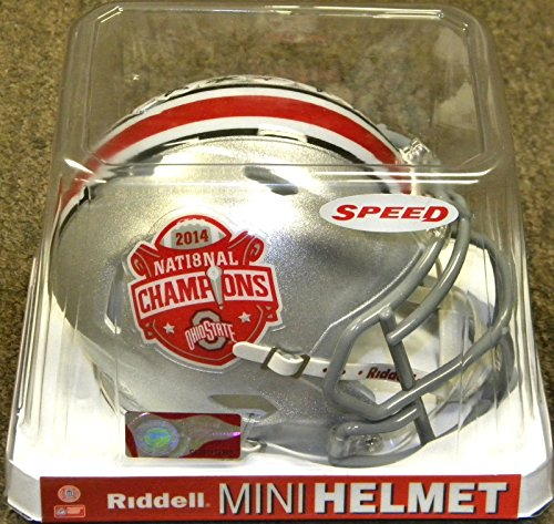Helmet Champs Mini Riddell (Ohio State Buckeyes Speed Mini Helmet - 2014 Champions)