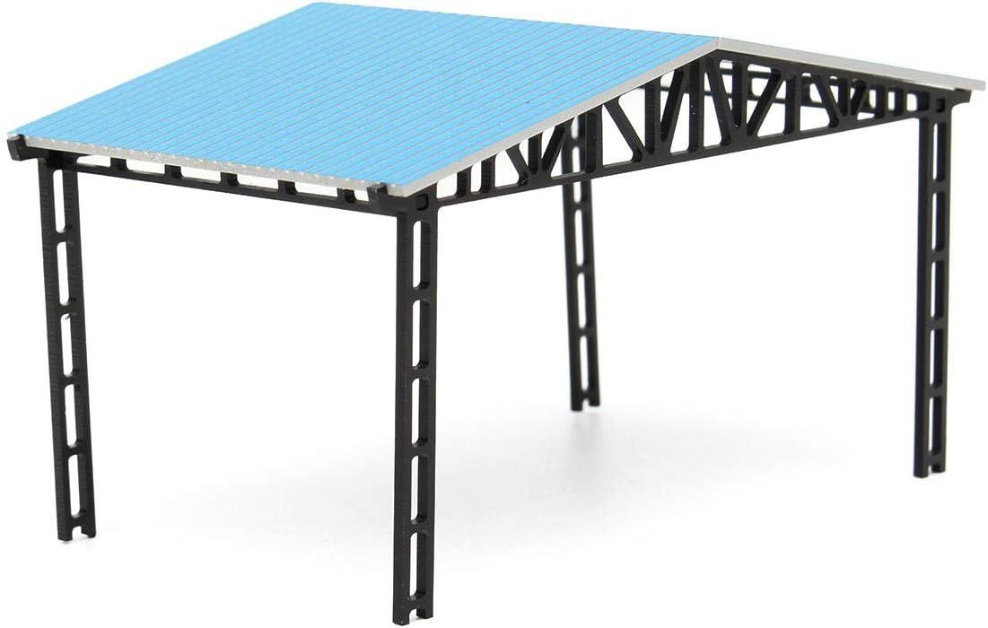 XiaoMall Modelo de diseño de construcción cobertizo de ...