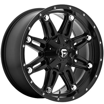 Amazon Com Fuel Hostage Matte Black Wheel 18x9 Automotive