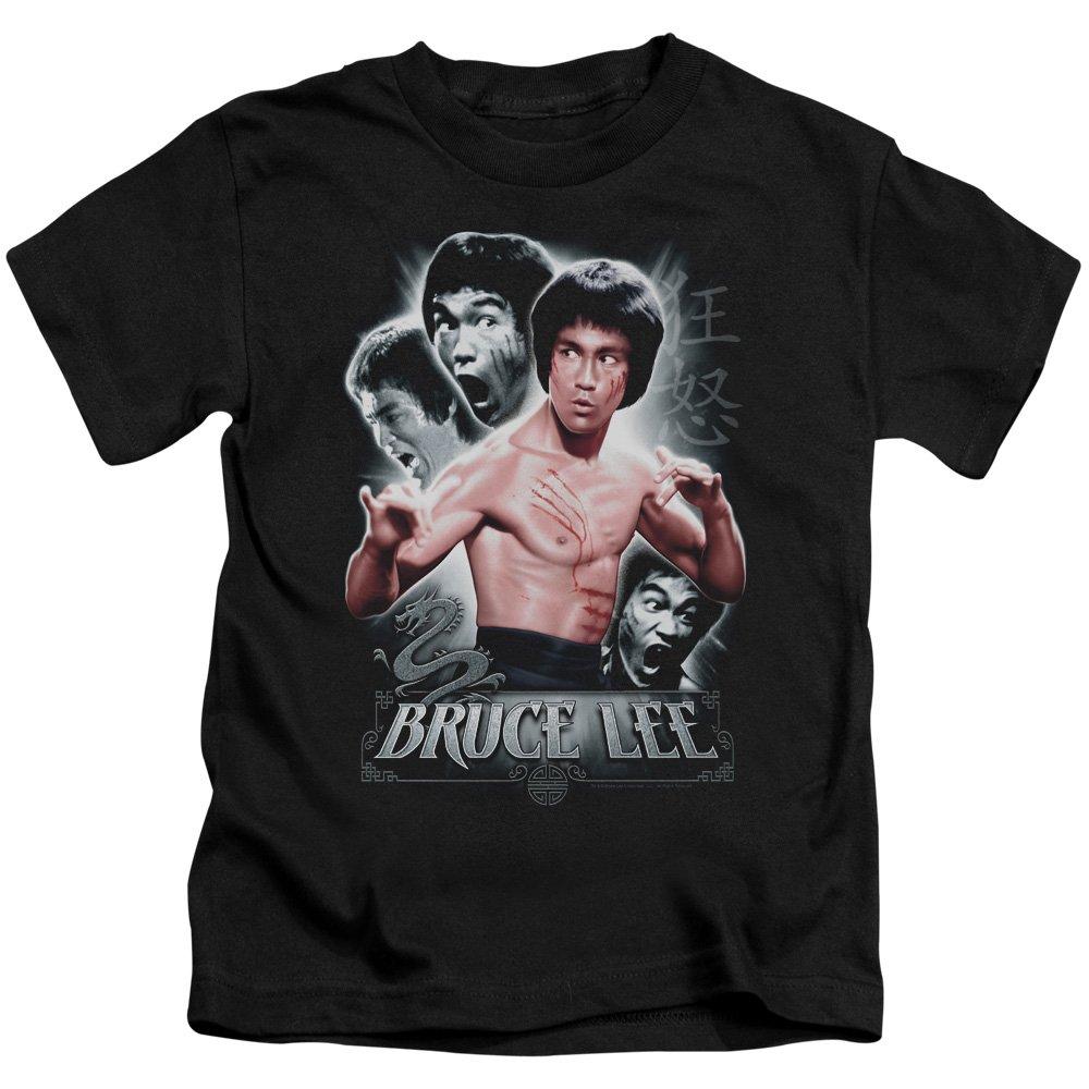 Short Sleeve Juvenile 18-1 Tee Trevco Bruce Lee-Inner Fury Black44; Small 4