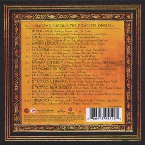 Puccini: Complete Opera Edition: Various, Giacomo Puccini: Amazon.es: Música