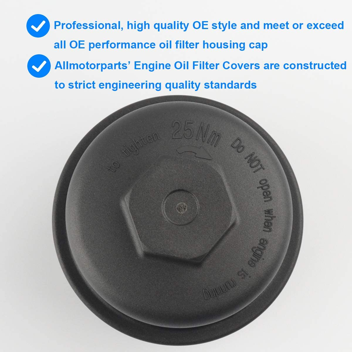 Charger Replace 917-050 Challenger Dodge Avenger Durango 68079747AC Compatible with 2011-2013 Chrysler 300 Jeep Grand Cherokee Oil Filter Cap Wrangler Grand Caravan Journey Town /& Country