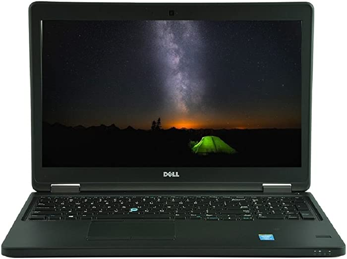 Dell Latitude E5550 Intel Core i5-5300U X2 2.3GHz 8GB 256GB SSD 15.6'' (Black)
