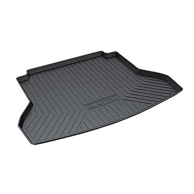 Vesul Rubber Rear Trunk Cover Cargo Liner Trunk Tray Floor Mat Fits on Hyundai Elantra Sedan 2020 2020 2020 2020: Automotive
