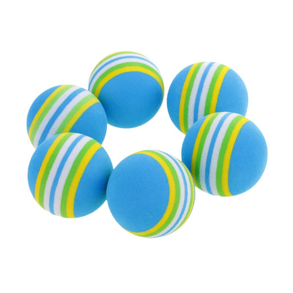 MagiDeal 6 Piezas Bolas de Esponja de Golf Suave Pelota de ...