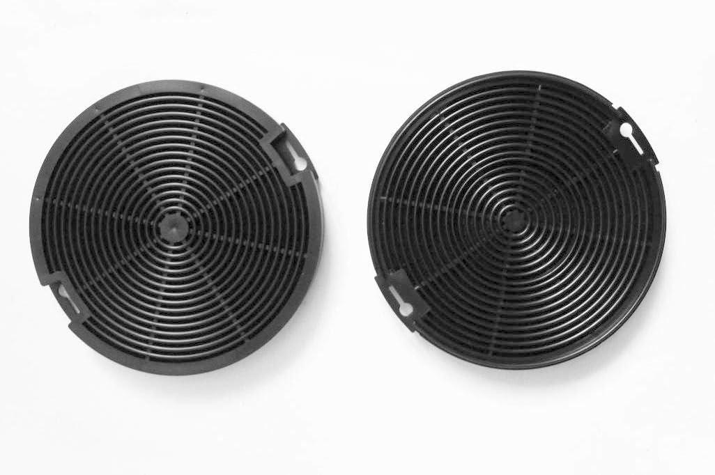 Keen Berk 4 x Filtro de carbón 15 Cm redondo – extractoras de ...