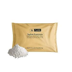 PURE Sodium Propionate Powder (8 oz.), Food Safe Mold Inhibitor, Food Preservative