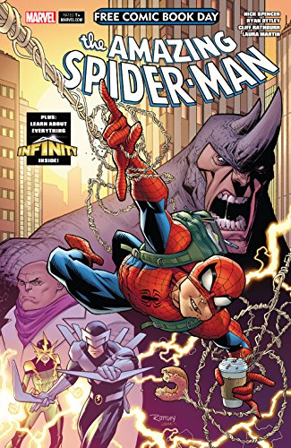 (Free Comic Book Day 2018: Amazing Spider-Man/Guardians Of The Galaxy #1)