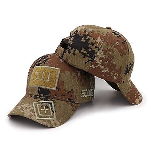 sdssup Sombrero 5.11 Velcro Camuflaje Gorra de béisbol Sombrero ...