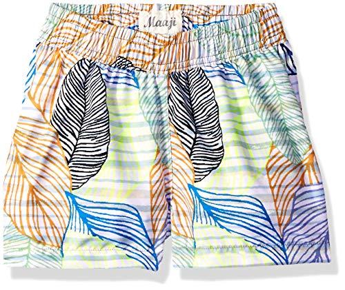 Maaji Little Reversible Elastic Waist Swimsuit Trunks, Boys Multi, 4-6