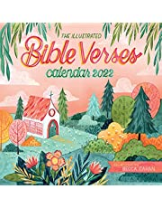 The Illustrated Bible Verses Wall Calendar 2022: A year of words to inspire devotion.