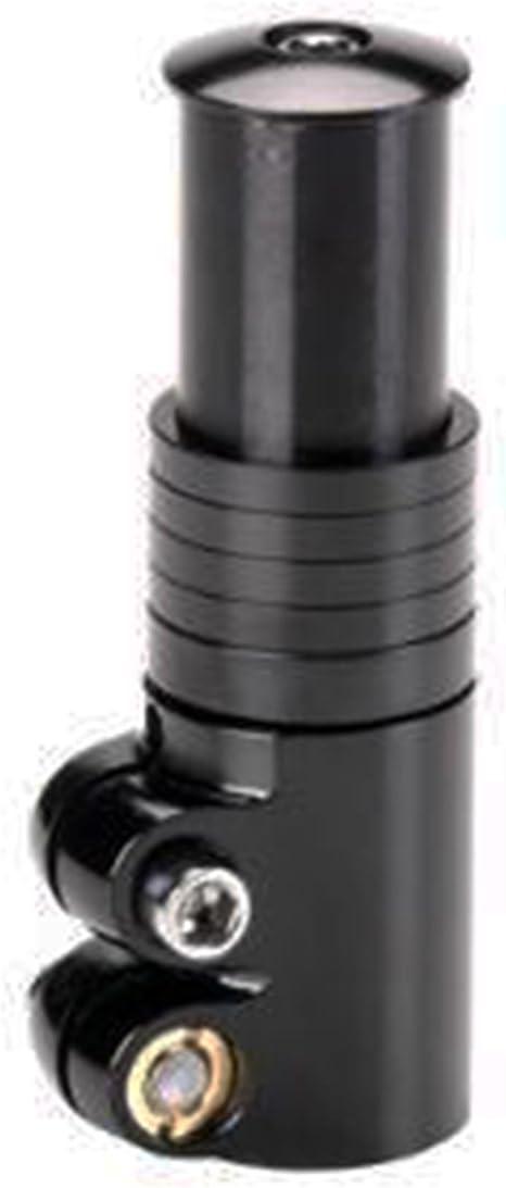 Elevador de Manillar Aluminio Negro Para Potencia Ahead Bicicleta 5 Anillas 3658: Amazon.es: Deportes y aire libre