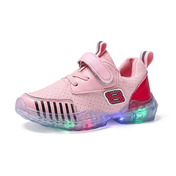 Kinder LED Schuhe Mädchen Jungen Leuchten Sportschuhe Unisex