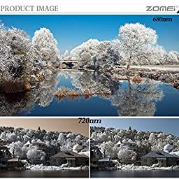 ZOMEi 52MM IR 850 GLASS Infrared X-Ray Filter