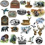 RoomMates RMK1071SCS Wildlife Medley Peel & Stick Wall Decals