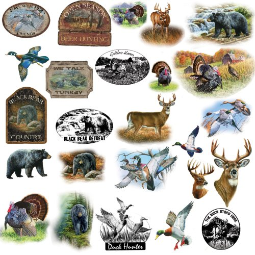 Wildlife Medley Peel and Stick Wall Sticker