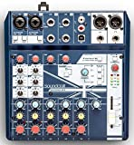 Soundcraft Notepad 8FX Small-Format Analog Mixer with USB I/O, Lexicon Effects