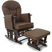 Marrón Supremo Bambino tela Enfermería Glider/balancín/maternidad/alimentación/Glider silla (con