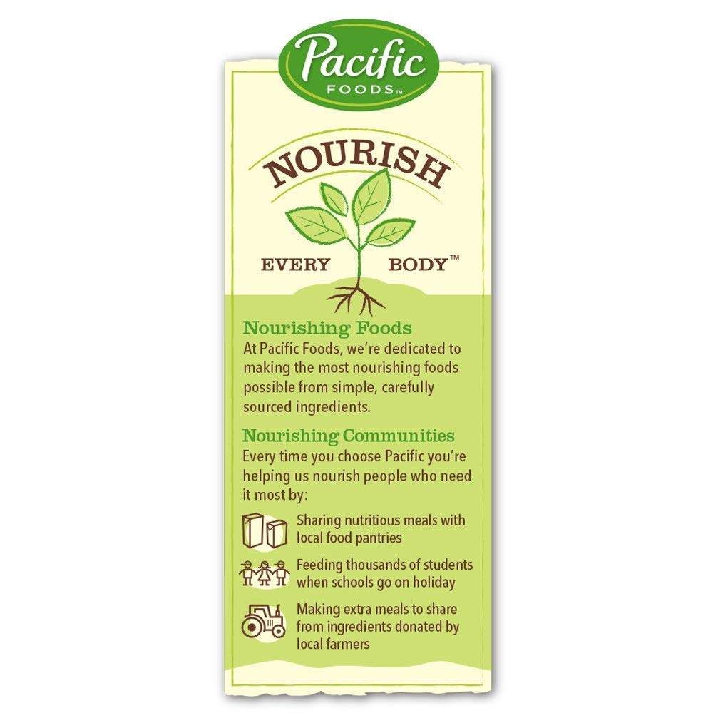 Pacific Foods Enriched Soy Non-Dairy Beverage, Original, 32-Ounce, (Pack of 12)