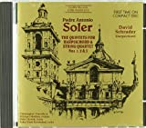 Padre Antonio Soler: The Quintets for Harpsichord & String Quartet Nos. 1, 2 & 3