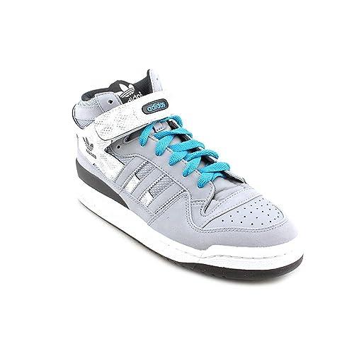adidasADG65715 - Adidas Forum G65715 caña Media, Color: Gris, Blanco, Negro.