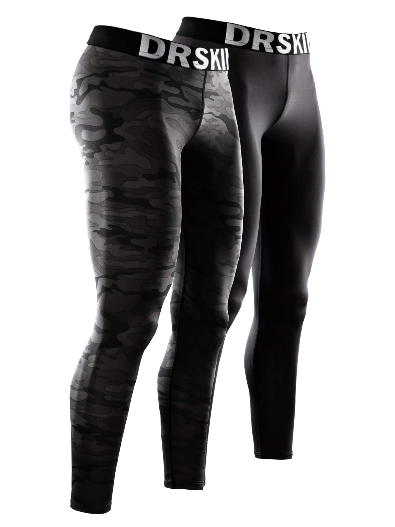 DRSKIN 1~3 Pack Men's Compression Dry Cool Sports