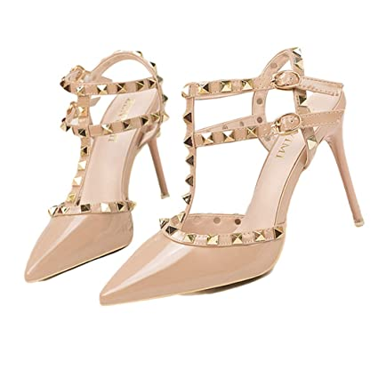 3f27ca09c28a8 Amazon.com : Kyle Walsh Pa Women Pumps, Female Sexy Spring Summer ...