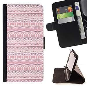 - Pinky Bow - - Prima caja de la PU billetera de cuero con ranuras para tarjetas, efectivo Compartimiento desmontable y correa para la mu?eca FOR Apple iPhone 5 5S King case