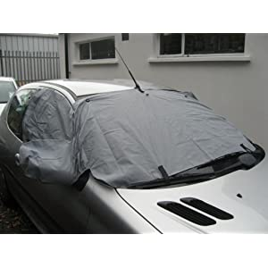 XtremeAuto¨ WINDSCREEN FROST ICE SNOW PROTECTOR MIRRORS COVER CAR Complete with XtremeAuto Sticker