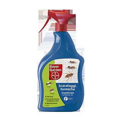 Bayer K Othrine Al 1lt Insetticida Spray Per Formiche Scarafaggi
