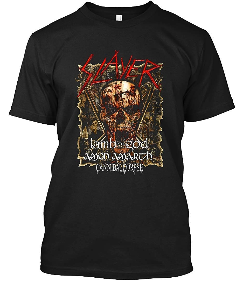 Slayer 2019 Tour Tuor 50 T Shirt For