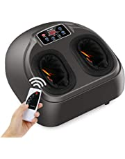 Shiatsu Foot Massager Machine, Arealer Deep Kneading Massager with Remote Control, Circulation,Heat Function, Air Compression, Rolling for Pain Soreness Relief,Revitive Medic,Plantar Fasciitis