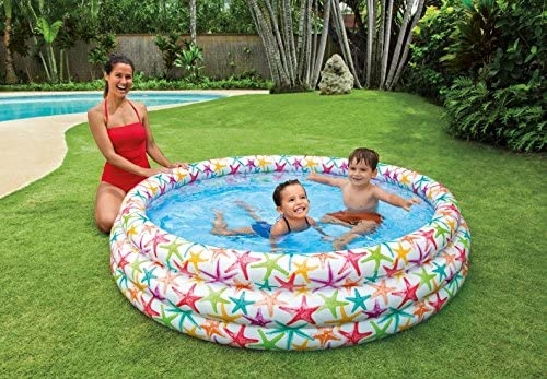 Piscina Hinchable Estrellas de Mar Intex (Ø 168 cm): Amazon.es: Jardín