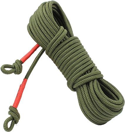 GLJJQMY Cuerda de Escalada Cuerda Auxiliar Cuerda de Acero ...