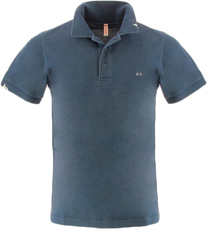 Sun 68 vintage polo shirt L: Amazon.es: Ropa y accesorios