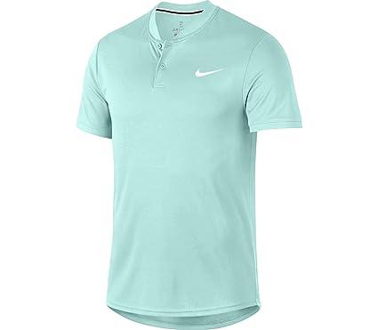 Nike M Nkct Dry Polo Blade, Hombre, Teal Tint/White, 2XL