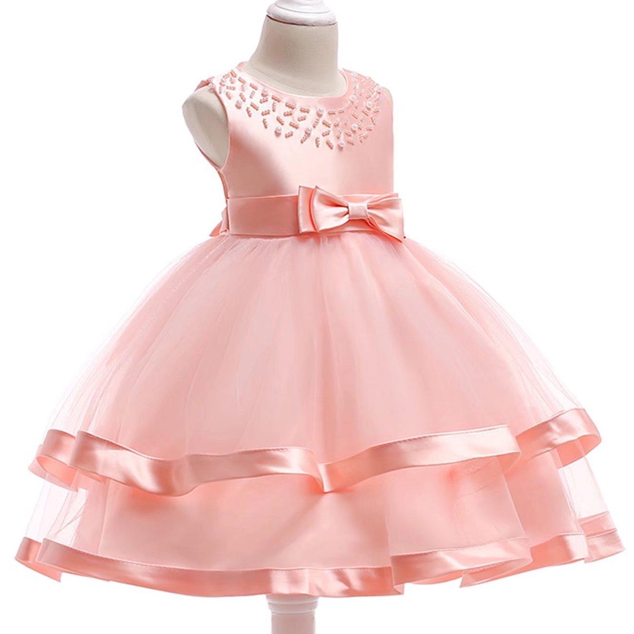 YOUTODRESS - dama Vestido diseño de princesa flor de satén para dama ...