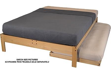 Amazon.com: KD Frames 2363 N2 T Nomad 2 Platform Bed, Twin: Kitchen U0026 Dining